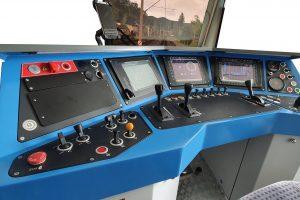 Simulator tren